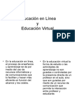 Ed en Línea vs Ed Virtual