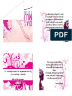 Tarjetas Dia de La Mujer