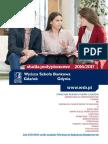 Informator 2016 - Studia Podyplomowe - Wyższa Szkoła Bankowa w Gdańsku