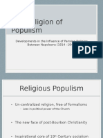 The Religion of Populism