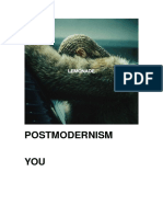 A2 Media Studies - Postmodern Media Revision Booklet