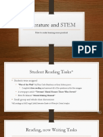 literature and stem