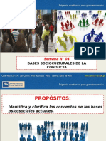- Bases Socioculturales de La Conducta