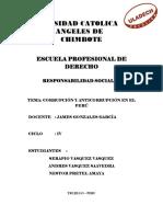 Corrupcion y Anticorrupción en Perú