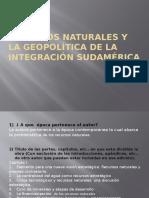 Recursos Naturales y La Geopolítica de La Integración11