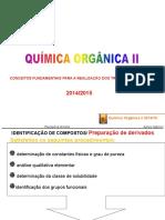 Quimica Orgânica II Preparação de Derivados
