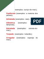 Formas do corpo dos animais.docx