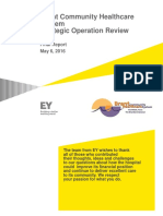BCHS Ernst & Young consultants report – May 6