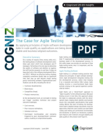 The Case for Agile Testing Codex891