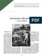 Meanings of Methodological Individualism
