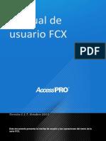 Manual de Usuario FCX_ES
