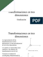 Transformaciones en 3 Dimensiones