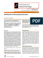 Skin Sparing Mastectomy 2