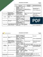 Mapa Do Plano Anual Actividades CAD Web