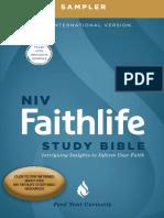 NIV Faithlife Study Bible Digital Sampler