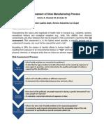 Risk Assessment of Shoe Manufacturing Process (Service Ind. Ltd.)123