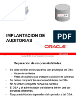 Gestion de La Auditoria en Oracle