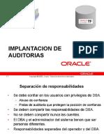 Gestion de La Auditoria en Oracle