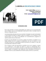 Discapacidad Laboral & Comun