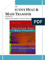 Solution Manual Convective Heat Transfer