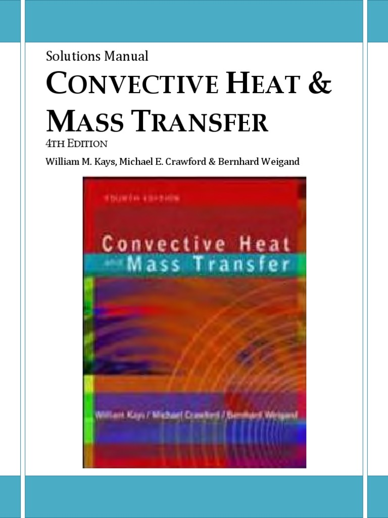 Solution Manual Convective Heat Transfer | Boundary Layer | Fluid Dynamics