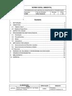 Gerenciamento de Resíduos e Efluentes Na Construção e Conservação - NAVA - 25 Rev0