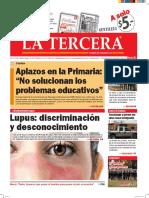 Diario La Tercera 10.05.2016