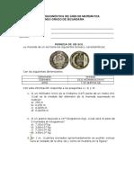 2- Evaluación diagnóstica MATEMÁTICA - 2°