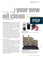 Keep Your New Oil Clean