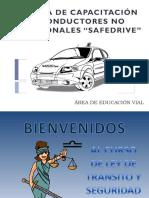 Ley de Transporte Terrestre, Tránsito y Seguridad Vial 2011