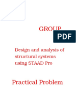 Staad Pro Project Report