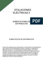 Subestaciones de Distribución.