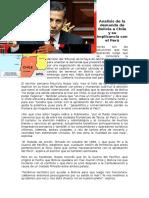 Cuál Es La Decisión Que Debe Tomar Perú Ante El Conflicto Que Mantienen Los Países en El Tribunal Internacional