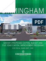 Fy 2017 Mayor's Proposed Capital Budget