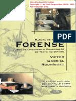Manual de Redação Forense - Victor Gabriel Rodriguez