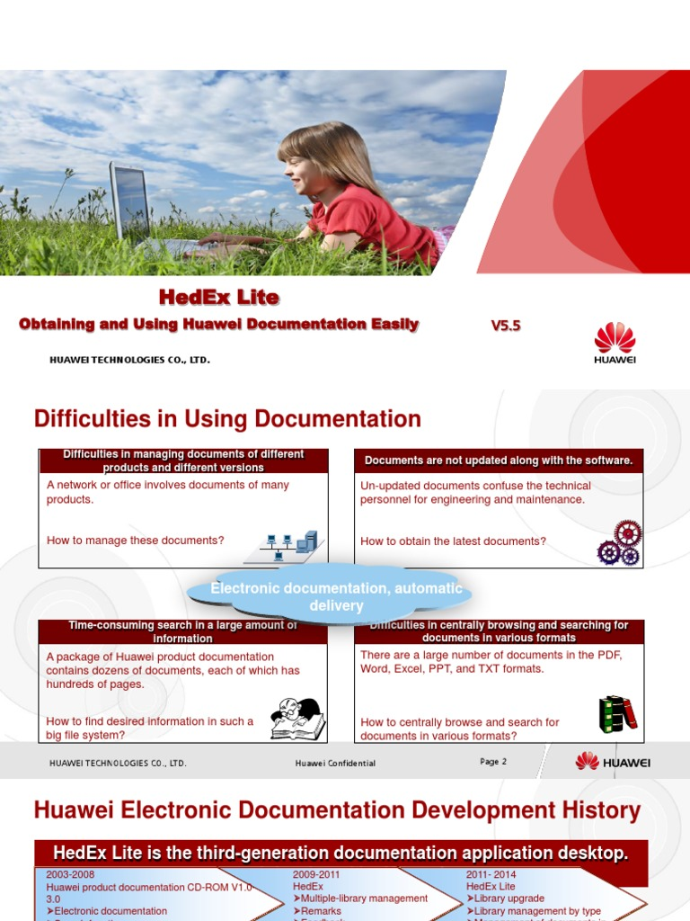 HedEx Lite-Obtaining and Using Huawei Documentation Easily