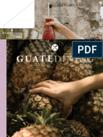 Colaboración en la revista Guatedining - Edición 30 - Abril 2016