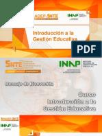 introducción a la gestión escolar