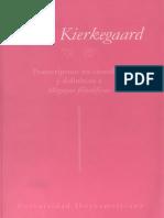 Sören Kierkegaard - Postcriptum No Científico y Definitivo a Migajas Filosóficas - Universidad Iberoamericana (Completo 680 Pp.)