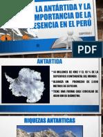 Antartida y La Importancia de La Presencia en El Peru