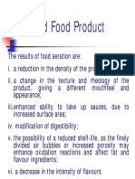 Aerated Food Product