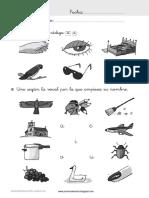 Colección de Fichas Prevención de Dificultades en Lectoescritura