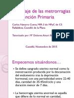 Abordaje de Las Metrorragias en Atencic3b3n Primaria Pdf1