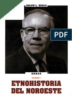Ralph Beals Etnohistoria Del Noroeste, Pp. 195-283