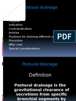 posturaldrainage