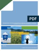 Organizationalcultureandthesuccess ofcorporatesustainabilityinitiatives