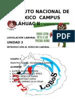 Instituto Nacional de México Campus Tláhuac Ll 01 de Marzo Del 2016