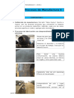 Apuntes Procesos de Manufactura II