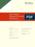 Psicología organizacional -Satisfaccion Total