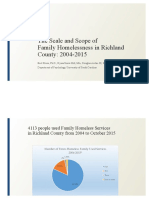 Family Homelessness in Richland County - 2016-05-10.Pptx